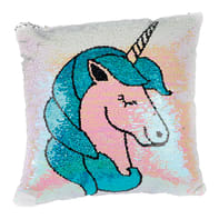 Cuscino Unicorno multicolor 40x40 cm
