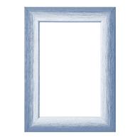 Cornice Bicolor azzurro<multisep/>bianco per foto da 60x80 cm