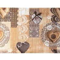 Tappeto Floor romantic , beige, 50x75 cm