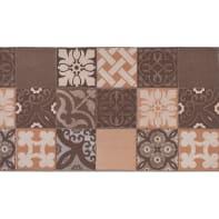 Tappeto Floor piastrella , marrone, 50x270 cm
