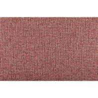 Tappeto Chantal in cotone, rosso, 50x130 cm