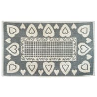 Tappeto Love , grigio, 50x75 cm