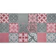 Tappeto Floor piastrella , multicolor, 50x270 cm
