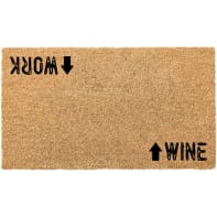 Zerbino Italo Work wine in cocco multicolor 40x70 cm