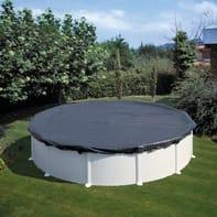 Copertura per piscina invernale NATERIAL CI301NAT in polietilene 300 cmØ 380 cm