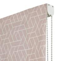 Tenda a pacchetto Geometric rosa 90x175 cm