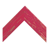 Cornice Amalfi rosso per foto da 21x29.7 (A4) cm