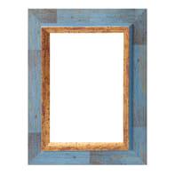 Cornice Firenze blu per foto da 50x70 cm