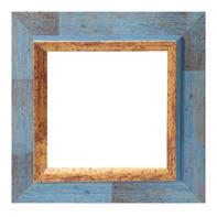Cornice Firenze blu per foto da 30x30 cm