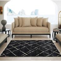 Tappeto Trendy , nero, 160x235