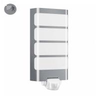 Applique L 244 LED integrato con sensore di movimento, in plastica, acciaio, 7.5W 500LM IP44 STEINEL