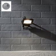 Proiettore LED integrato con sensore di movimento in alluminio, antracite, 10W IP44 INSPIRE