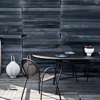 Tavolo da giardino allungabile Evo con piano in alluminio L 180 x P 90 cm