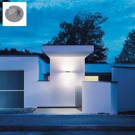Applique L810 LED integrato con sensore di movimento,  in alluminio, grigio, 12.5W 1125LM IP44 STEINEL