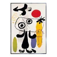 Stampa incorniciata Gegen Rote Son Miro' 70.7x100.7 cm