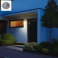 Proiettore LED integrato con sensore di movimento Xled slim  in alluminio, antracite, 15W 660LM IP44 STEINEL
