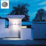 Applique Updown  LED integrato con sensore di movimento,  in alluminio, grigio, 12W 858LM IP54 STEINEL
