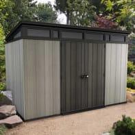 Casetta da giardino in polipropilene Artisan,  superficie interna 6.57 m² e spessore parete 20 mm