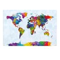 Poster World Map - Mappa Mondo 61x91.5 cm