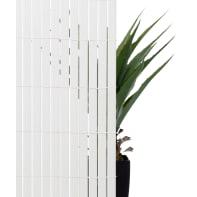Canniccio doppia vista pvc NATERIAL bianco L 5 x H 1.5 m