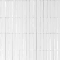 Canniccio doppia vista pvc NATERIAL bianco L 5 x H 2 m