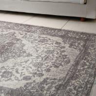 Tappeto persiano New argentella 5 in cotone, grigio scuro, 160x230 cm