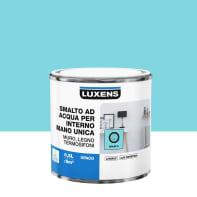 Vernice di finitura LUXENS Manounica base acqua blu miami 5 opaco 0.5 L