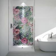 Mosaico Jungle Flower H 240 x L 120 cm multicolor