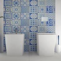 Mosaico Cement Blu H 59 x L 178 cm blu