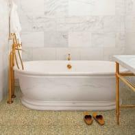Mosaico Oro Giallo15 H 31.8 x L 31.8 cm dorato