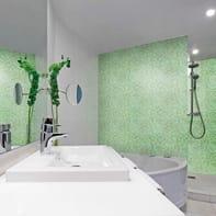 Mosaico Celery20 H 31.8 x L 31.8 cm verde