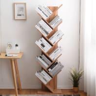 Scaffale in legno in kit 10 ripiani L 44.5 x P 22 x H 164 cm