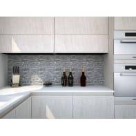 Mosaico H 20 x L 30 cm grigio