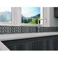 Mosaico H 30.8 x L 30.8 cm grigio chiaro/grigio scuro