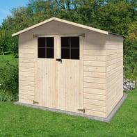 Casetta da giardino in legno Iris,  superficie interna 3.78 m² e spessore parete 12 mm