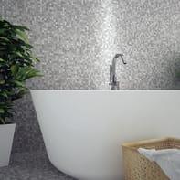 Mosaico H 30.5 x L 30.5 cm grigio