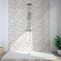 Mosaico H 29.8 x L 30.5 cm grigio/nero