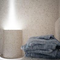 Mosaico H 30.5 x L 30.5 cm beige
