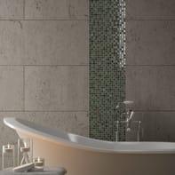 Mosaico H 30 x L 30 cm verde