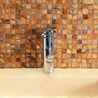 Mosaico H 29.4 x L 29.4 cm beige