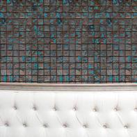 Mosaico H 31.5 x L 31.5 cm marrone/blu