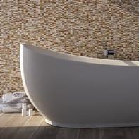 Mosaico H 32 x L 32 cm beige