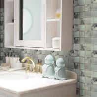Mosaico H 29.8 x L 29.8 cm grigio