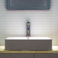 Mosaico H 29.5 x L 31.5 cm beige