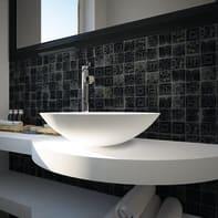 Mosaico H 31.5 x L 31.5 cm nero