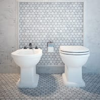 Mosaico H 29.8 x L 30.5 cm bianco