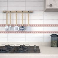 Mosaico H 30.1 x L 30.1 cm marrone/rame