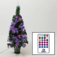 Albero di natale artificiale multicolore H 100 cm