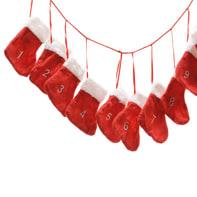 Ghirlanda natalizia Ghirlanda rosso