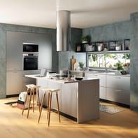 Cucina in kit  Detroit grigio L 540 cm